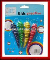 2015 4pcs kids shaped crayon