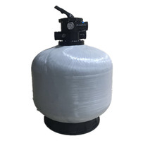 New design Emaux multiport P400 top mount swimming pool sand filter