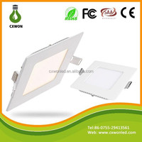 4W Square panel light 95x95 105x105 square shaped led ceiling light for indoor decoration