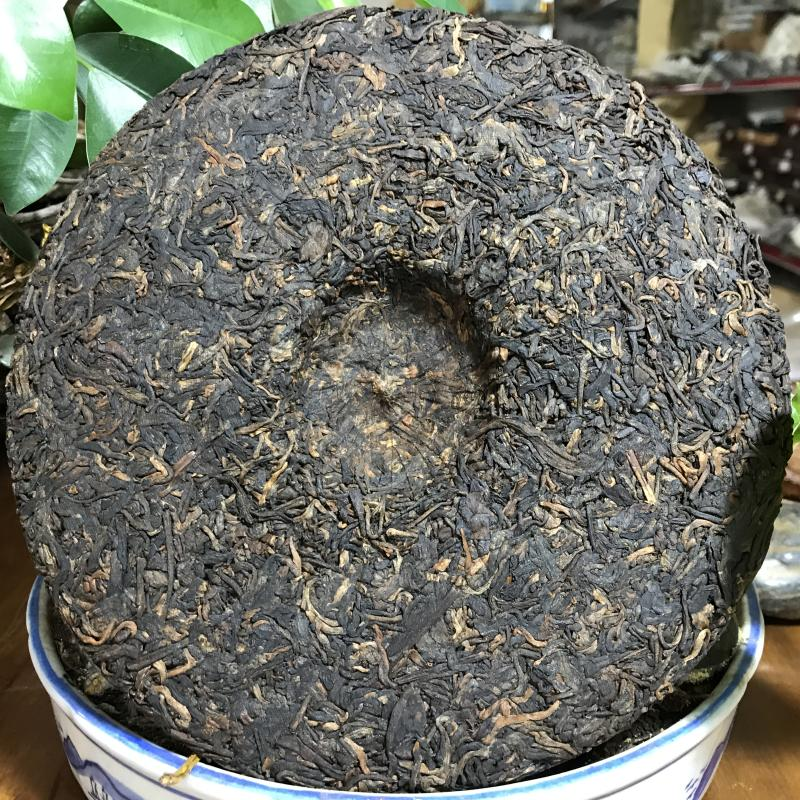 Hunan decompress Jinhua Fu brick pu'er tea post fermented