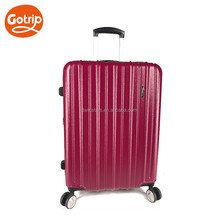 Abs Polycarbonate Colorful Aluminium Trolley Luggage Bag