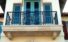 Hot-Dipped Galvanized iron balcony railings designs/balcony railing/types of marbles with pictures