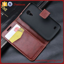PU Leather Stand Wallet Case Cover for Samsung Galaxy SIV Mini S4 Mini i9190