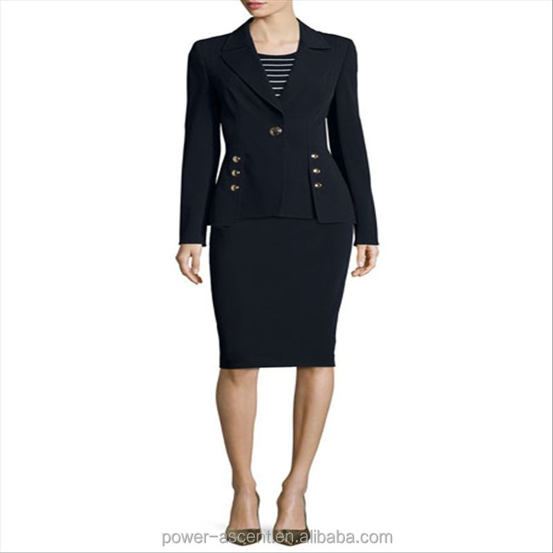 2016 hot sale formal ladies office wear suit