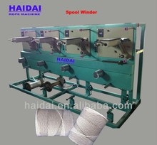 Precision cross winding type pp nlon polyester sisal jute cotton yarn winder machine