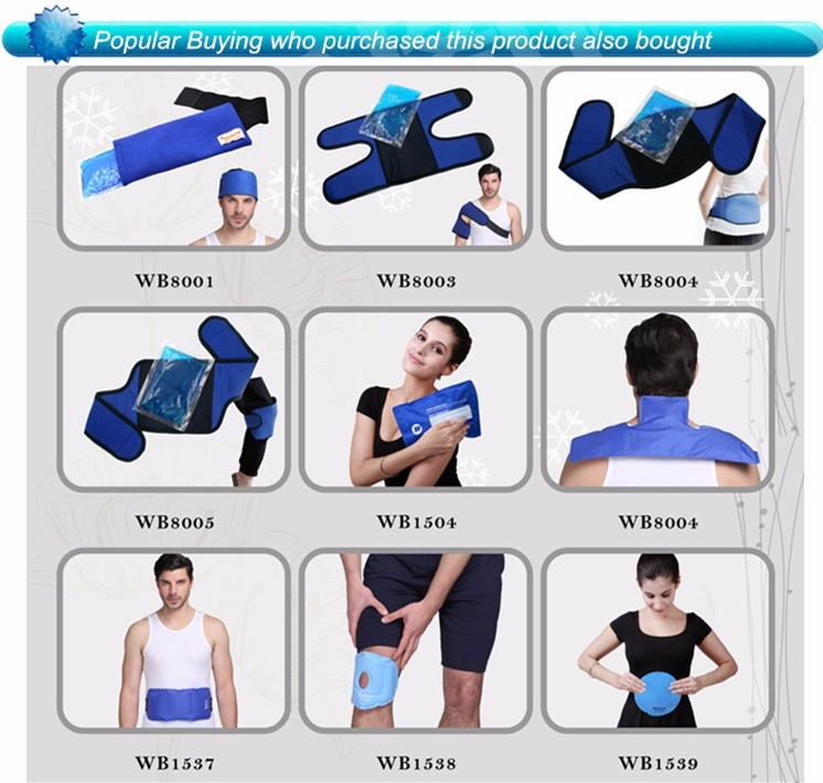Therapy Gel Ice Pack Hot Cold Compression