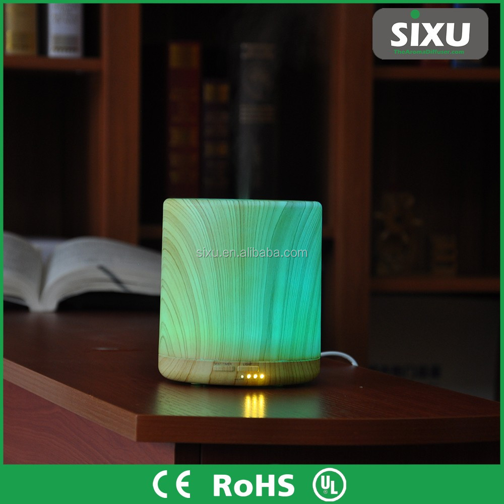 Hotel room oxygen concentrator portable air freshener wood grain aroma diffuser