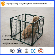folding metal wire mesh welded metal dog kennel