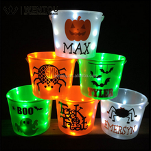 Wholesale Personalized Lighted Halloween Bucket