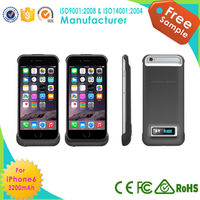 New arrival power charger case for iphone6, battery backup power supply