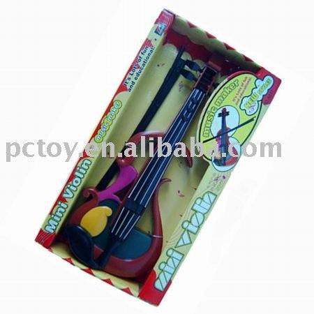Plastic kids Musical toy Violin MZZ70916