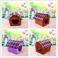 factory price plush stuffed dog beds for large dogs