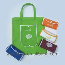China Manufacturer pp non woven laminated zipper bag tote shopping bags