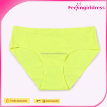 Breathable seamless ladies underwear silk panties for men