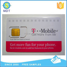 Low cost nfc id card blank rfid mini cards memory sd Card