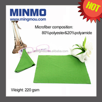Jewelry and sunglasses cleaning lens cleaning cloth, logo printed microfiber lens cleaning cloth