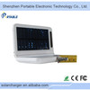 Top Quality Best price Solar External Battery Charger,1.98W Solar Charger With Flashlight