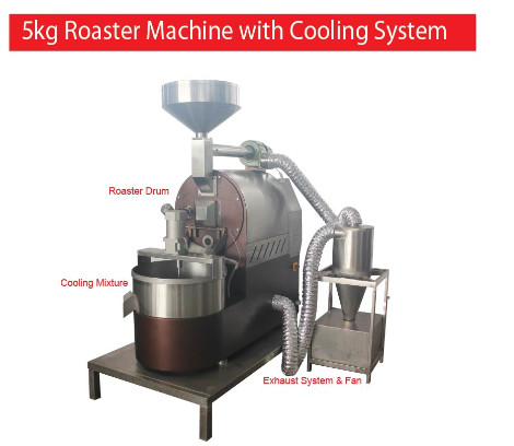 5KG Roaster Machine With Cooling System