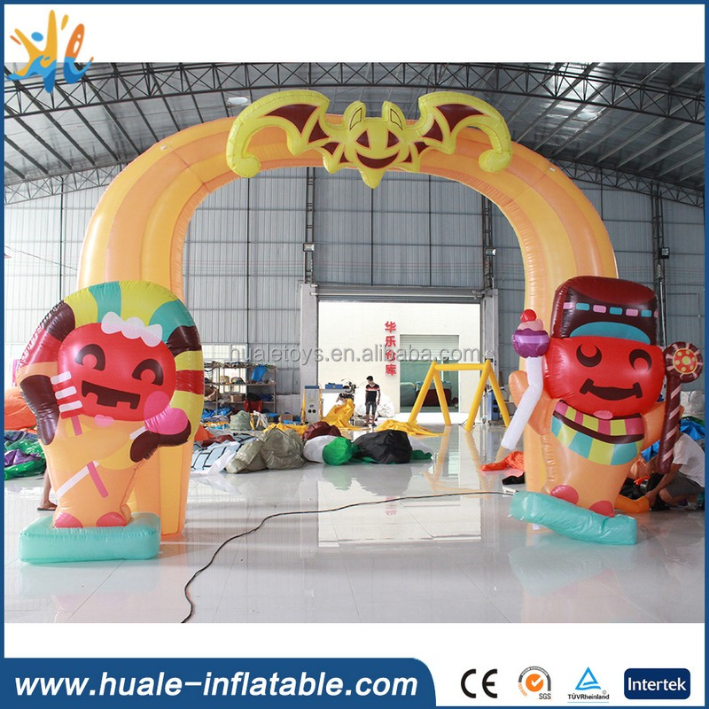 new inflatable arch, arch for promotion and advertising, inflatable halloween arch