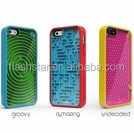 For iPhone 6 Maze Game Funny Silicon Mobile Phone Case Cover Made in China