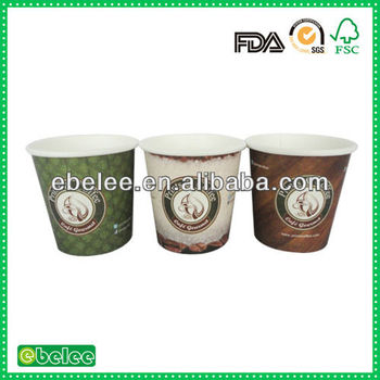 custom printed paper coffee cup wholesale