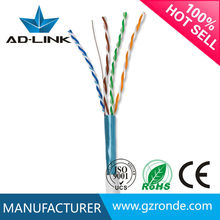 De alta velocidad de ethernet 24awg 4 pairs cat 5 cable blindado