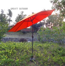 new design best quality fabric indian garden parasol canvas umbrella cover