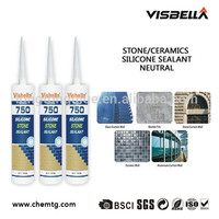 Neutral Cured Marble Stone Silicone Adhesive