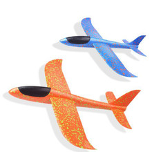 Flugzeug Hand Throwing Toy Model Hang Glider Foam Plane For Kids