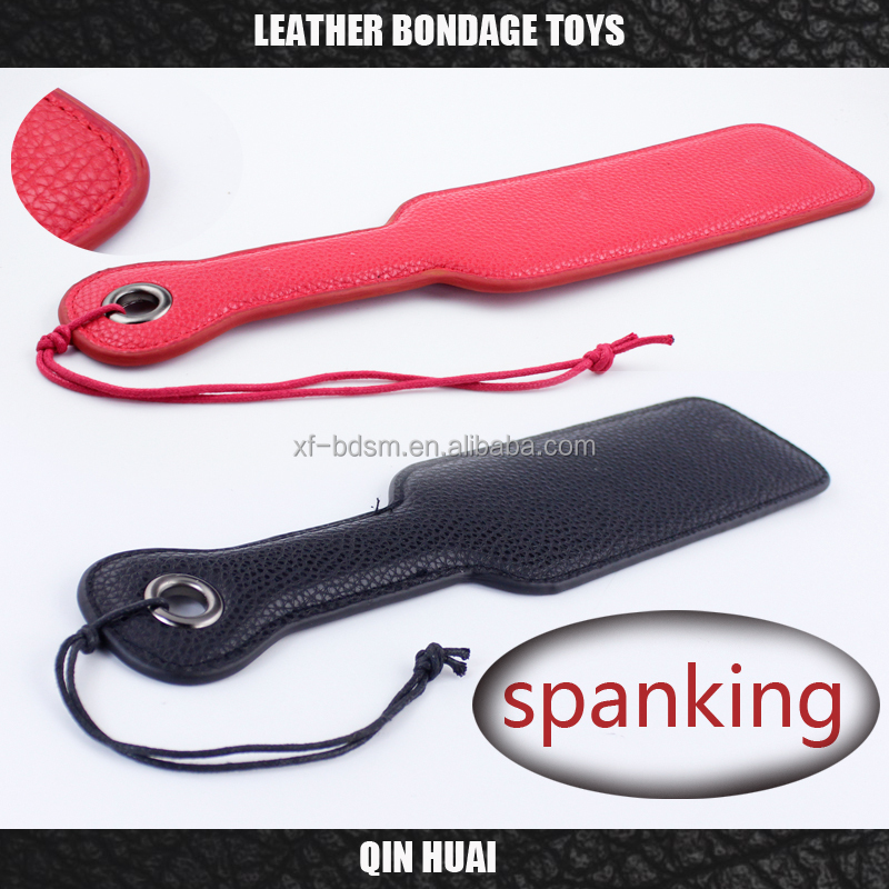 male Black Red Pink SM Flog Spank Paddle Beat Submissive Slave Kinky Fetish BDSM Whip Torture Gear Sex Toy spanking for women an