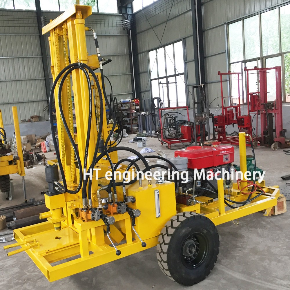 2016 Strong Power Low Price HT-W200 Hydraulic Water Well Drilling Machine