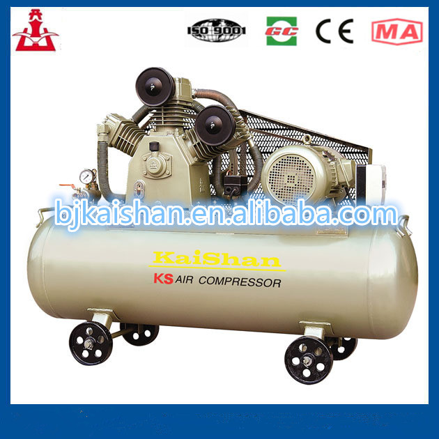 Auto-driving KS series high pressure air compressor of piston type with imported head
