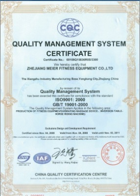 QUALITY MANAGEMENT SYSTEM CERTIFICARE
