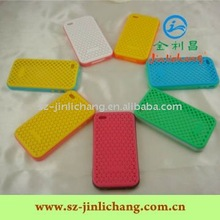 NEO silicone case with PC bumper for iphone4