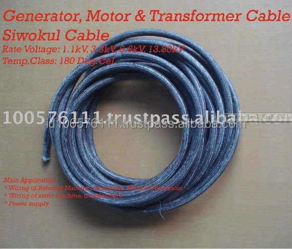 High Voltage Electrical Motors Transformers Generator Wiring Rotating machines Siwokul Lead Cable