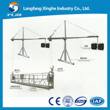 zlp800 suspended access platform/ high rise window cleaning equipment/gondola lift