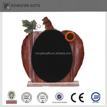harvest deco fashion wooden pumpkin