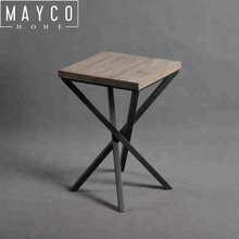 Mayco Contemporary and Contracted Style Designs Metal Table Legs Decorative Wrought Iron Home Table <strong>Furniture</strong>