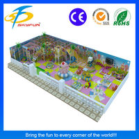 Manufacturer of durable indoor kids soft play sets for playland