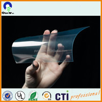 Good flexibility clear PVC rigid sheet super transparent plastic sheet