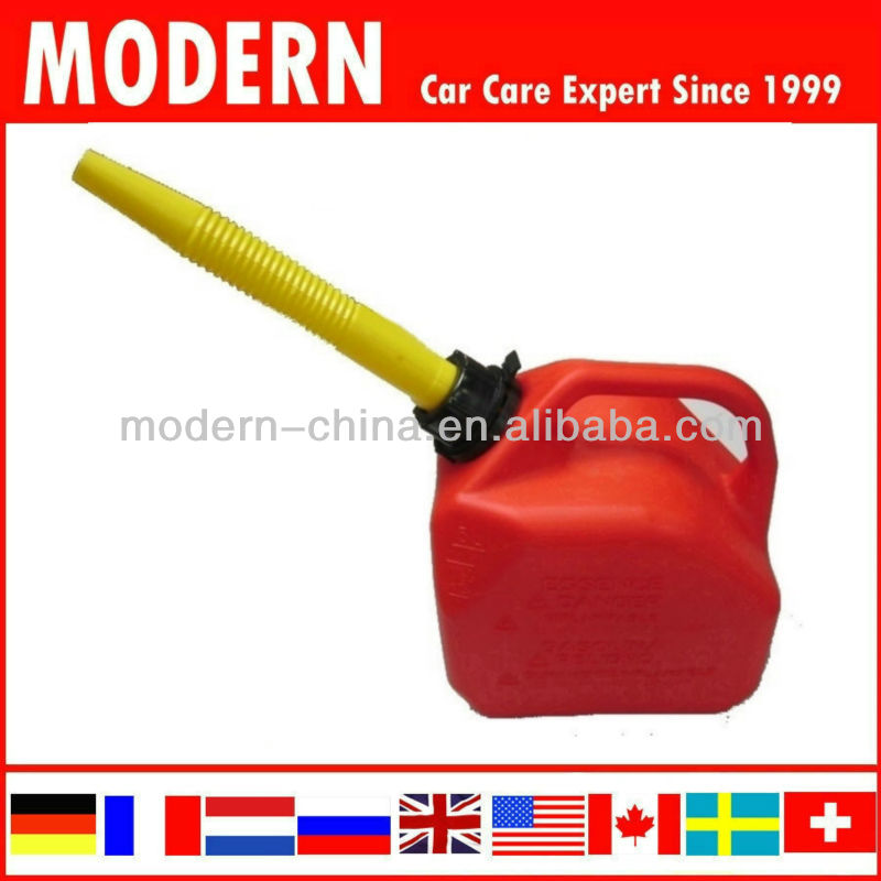 Car plastic Jerry can oil container fuel tank