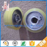Convenient low noise non-toxic wear resistant small plastic pulley