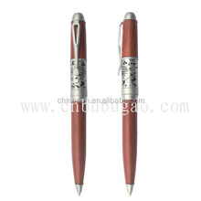 Wooden look metal pen high quality for business or gift