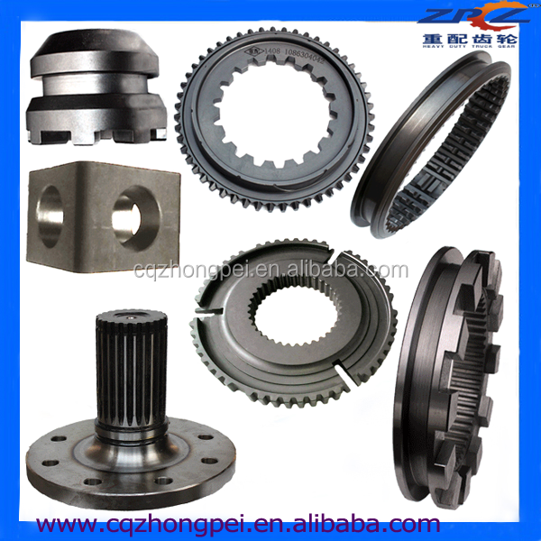 Metal Spare Parts Differential And Gearbox Spare Parts