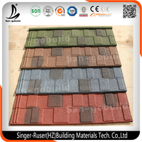 Good Quality and Low Cost Insulated Colorful Stone Coated Metal Roof Tile for Houses