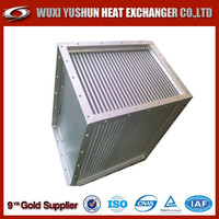 china direct factory plate fin aluminum air to air heat exchanger
