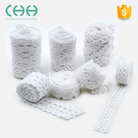 Factory sales Water Soluble Handmade Accessories sewing material lace