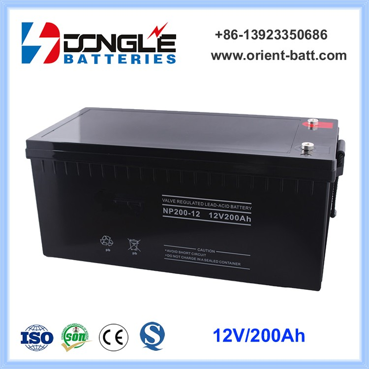 High Quality Super Long Life Deep Cycle Solar Battery 12V 200Ah