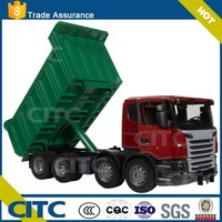 Chinese supplier :new & hot selling 2 axles 40 ton hydrualic dump truck trailer CITC