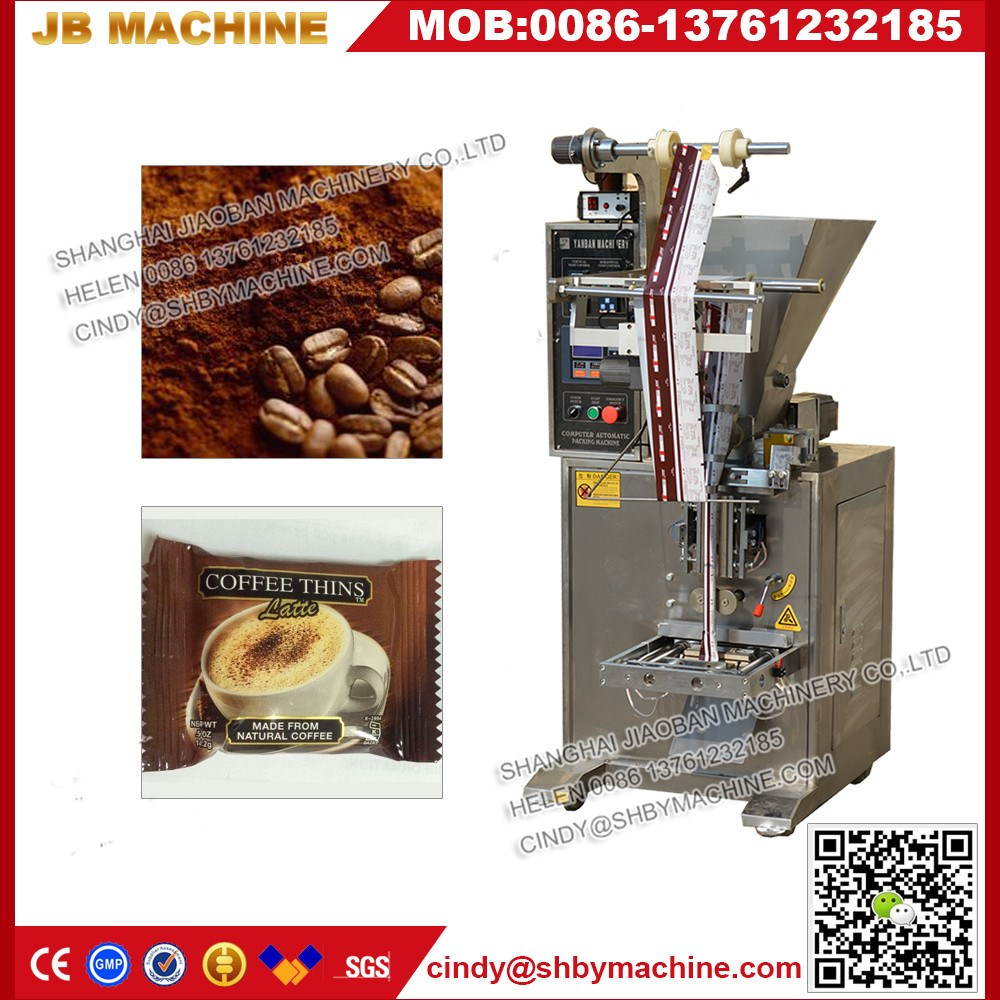 horizontal pouch bag packaging machine plastic tube filler sealer with volumetric aufer filler {